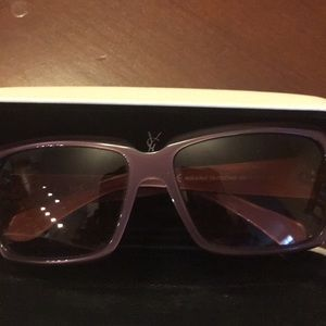 Gently used YSL sunglasses 6110 Strass.